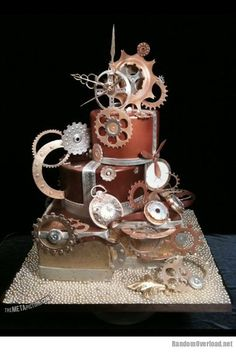 Awesome steampunk cake | Random Overload