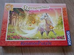 Verkaufe Puzzle von Sternenschweif mit 100 Teile. Neuwertig und in einem sehr guten Zustand. Abholung oder auf Wunsch Versand per Hermes als Päckchen zzgl. 3,90 €
