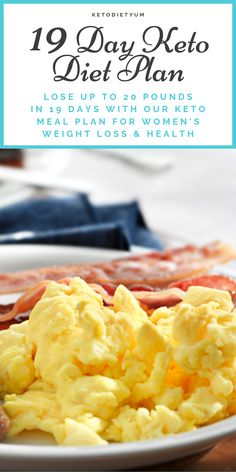 Thinking of starting the keto diet? As with any restrictive low-carb diet, keto diet comes with a set of challenges and list of foods to eat and not to eat. This keto diet menu has all you need to drive and keep your body in the state of ketosis. Ketogenic Diet, Keto Diet Plan, Diet Meal Plans, Ketogenic Recipes, Diet Recipes, Dessert Recipes, Easy Keto Meal Plan, Flour Recipes, Atkins Diet
