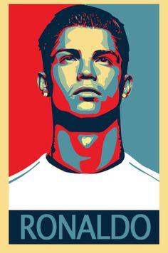 C Ronaldo  #soccer #poster #ronaldo
