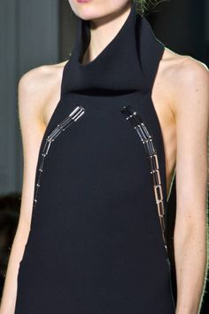 Anthony Vaccarello Fall 2013 Ready-to-Wear Detail - Anthony Vaccarello Ready-to-Wear Collection - ELLE