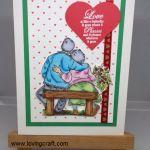אהבה-LOVE כרטיס ליום האהבה