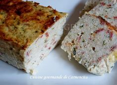 Terrine de cabillaud au chorizo - Expolore the best and the special ideas about Smoking meat Smoking Meat, Charcuterie, Mousse, Banana Bread, Sausage, Buffet, Brunch, Food And Drink, Menu
