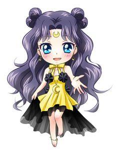 neue anime/new anime Sailor Moon Luna, Sailor Moon Crystal, Sailor Moon Girls, Sailor Moon Fan Art, Sailor Moon Character, Sailor Chibi Moon, Anime Chibi, Kawaii Anime, Cute Pictures To Draw