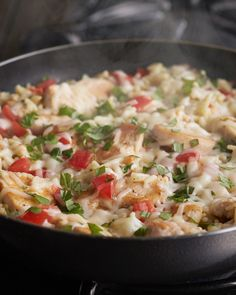 Save time on cooking and clean-up with one-pot dishes like this Creamy Bruschetta Chicken. Easy, delicious and budget-friendly, this risotto-style dish is the perfect weeknight meal. Get ingredients for all your simple meals at Walmart.