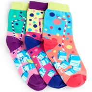 Colorful, zany, unusual socks