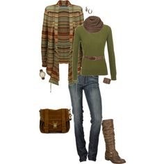 """perfect for a casual weekend... :-)"" by stacychidaushe on Polyvore"