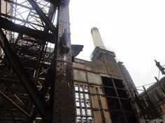 Inside Battersea Power Station
