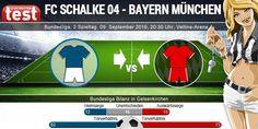 Sportwetten Test präsentiert Statistiken zum Bundesliga Kracher Schalke 04 gegen Bayern München