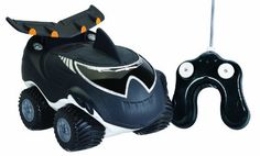 "Kid Galaxy Morphibians Killer Whale (677869101683) With its 4 x 4 high power, drive over rocks and dirt on land and then ""morph"" onto water Watch the wake forming treaded paddles style wheels, pull your Morphibian on water and then steer back onto land for exciting duel play fun Textured skin for cool, funky look Full function RC Runs on a frequency of 27 MHz"