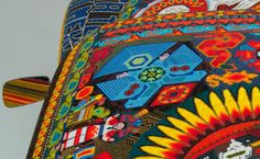 For the Huichol, creating art — in the form of beadwork, textiles, stone sculptures, ceremonial objects and pipes — is not merely decorative. It is an expression of faith, evoking centuries-old shamanism and peyote rituals that are still practiced to this day.