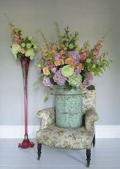 Love My Dress UK Wedding Blog - flowers by Scarlet & Violet...
