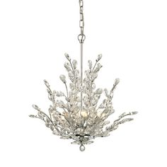 House of Hampton® Ryde 6-Light Crystal Chandelier