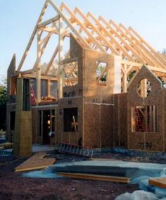 New Energy Efficient Home Built with Murus Structural Insulated Panels (SIPs)