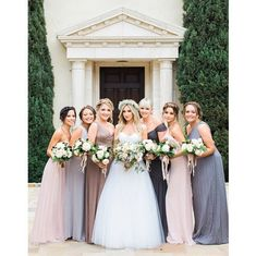 Ashley Tisdale marries Christopher French #Wedding #VanessaHudgens  I LOVE her wedding style. The bridesmaids really complement her!