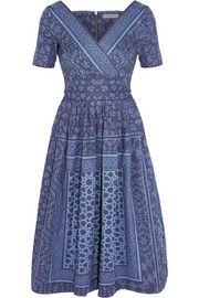 Preen LineSaira printed denim dress