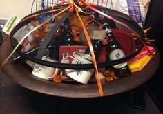 Elegant Fire Pit Gift Basket Ideas
