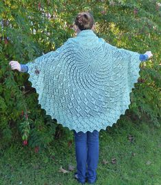 Today is Pi Day. What better day for casting on your own pi shawl. This is my Miss American Pi, available from all the usual places.