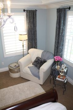 1000 images about reading corner in bedroom on pinterest reading corners cozy reading Master bedroom corner decor