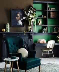 Versace Home interior Design - - Home interior Living Room Open Floor - - Deco Design, Design Case, Design Trends, Design Ideas, Design Projects, Design Design, Color Trends, Diy Projects, Dark Interiors