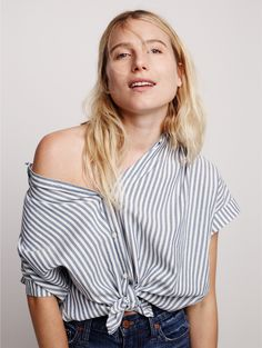 madewell central shirt.