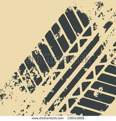 Vector grunge tire tracks Free vector for free download about (2 ...