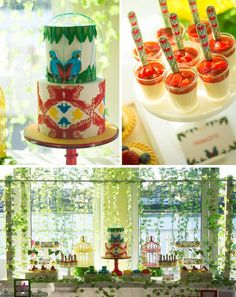Birds of Paradise Themed 21st Birthday Party