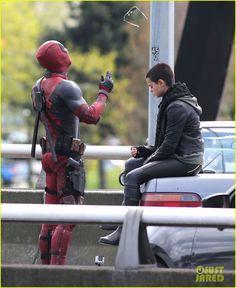 Deadpool Movie - Ryan Reynolds !!
