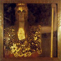 Gustav Klimt, Pallas Athene, 1898.