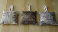 sachets set of three aromatherapy bags scented sachets by Quiltly