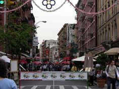 Mulberry St, Little Italy