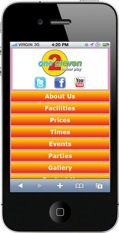 The Mobile Web App we created for www.one2elevenplay.co.uk    ----BTW, Please Visit:  http://artcaffeine.imobileappsys.com