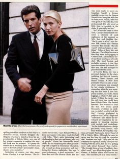 .A article published by Newsweek about CBK... Oct 21 1996 by Tessa Numuth,T.Trent Gegan,and Yahlin Chang in New york & Claudia Kalb in Boston..