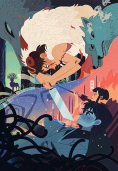 Mindless Self Indulgence - Bomb This Track Totoro, Studio Ghibli Films, Studio Ghibli Art, Mononoke Anime, Collage Mural, Fan Art, Hayao Miyazaki, Pretty Art, Animes Wallpapers