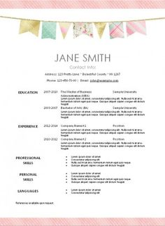 16 best free printable resume templates images resume