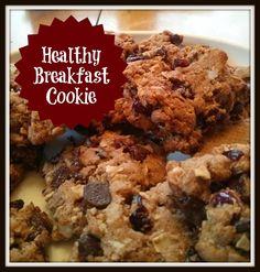 """""""Healthy"""" Breakfast Cookie"""