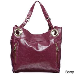 @Overstock - This fashionable tote from Steve Madden features a glazed wash. Attractive goldtone hardware and spacious pockets finish this tote handbag. http://www.overstock.com/Clothing-Shoes/Steve-Madden-Double-Handle-Glazed-Tote-Bag/6554050/product.html?CID=214117 $58.99