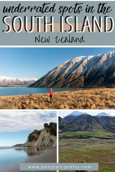 Exploring New Zealand? Want to get off the beaten path a little bit?  Check out these underrated spots in New Zealand on the south island. Great Places, Places To See, Best Track, New Zealand Travel, South Island, Travel Advice, Weekend Getaways, East Coast, Lakes