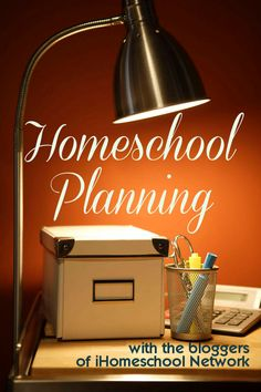 Homeschool Planning Ideas for toddlers
