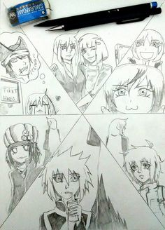 Again and again, a FanArt created by M. Aditia Syahputra. Just find where Cyntia is. Thanks!