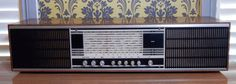 Vintage, Retro  Radio. Good condition, boho. Great to display.Film Prop by Route46Vintage on Etsy