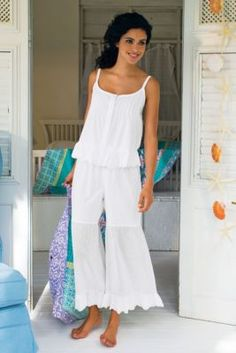 Savannah PJs from Soft Surroundings
