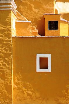 Yellow Building by Sigfrid Lopez