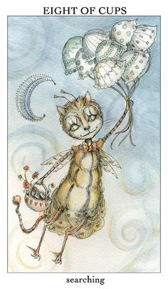 Featured Card of the Day – 8 of Cups – Joie de Vivre Tarot by Paulina Cassidy « Tarot by Cecelia Tarot By Cecelia, Fortune Telling Cards, Love Tarot, Oracle Cards, Tarot Decks, Scouting, Tarot Cards, Occult, Astrology