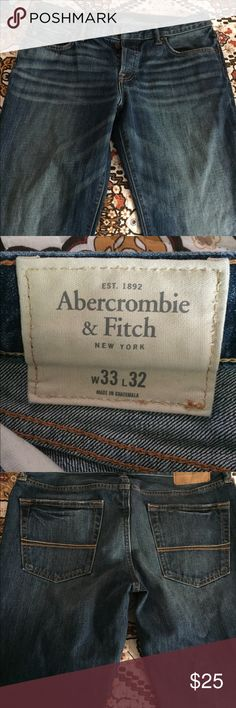 Abercrombie & Fitch jeans. Men's Abercrombie & Fitch jeans. Size 33/32. In great condition. Barely worn Abercrombie & Fitch Jeans Straight