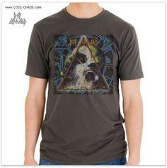 Def Leppard T-Shirt / Men's 80's Rock Tee / Def Leppard Hysteria