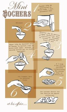 Tambouille» Mini rochers recette illustrée cuisiner lire peser en autonomie