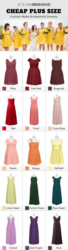 b42ee2655dc Cheap plus size bridesmaid dresses in 300+ styles  amp 150+ colors are under