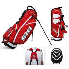NCAA Wisconsin Fairway Stand Bag by Team Golf. Buy now @ ReadyGolf.com