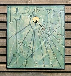 Hand-painted vertical dial